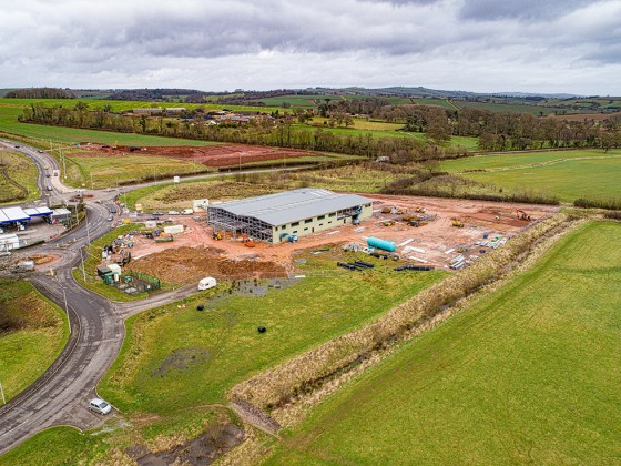 Mole Avon - New Site, Wellparks, Crediton - January 2018