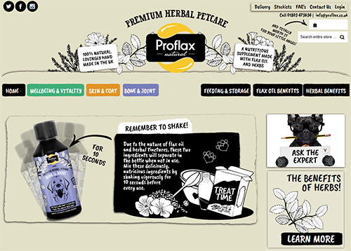 Proflax Herbal Pet Care