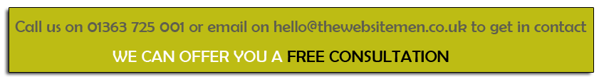 Get in touch with The Websitemen