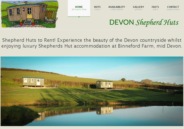 Shepherd Huts Devon